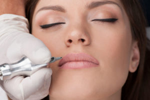 semi permanent make up at golden glow hair and beauty salon in alton, hampshire